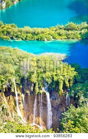 Plitvice Lakes National Park Vertical View