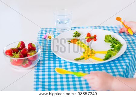 Healthy Lunch For Children