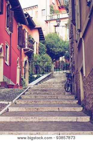 Vintage Photo Of Verona Street