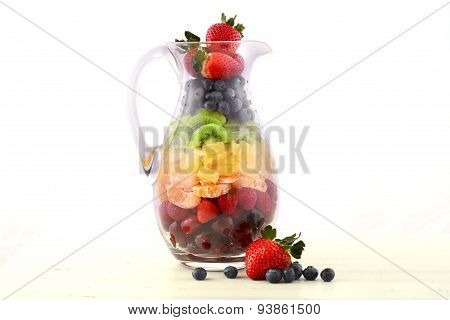 Fresh Fruit Juice Concept