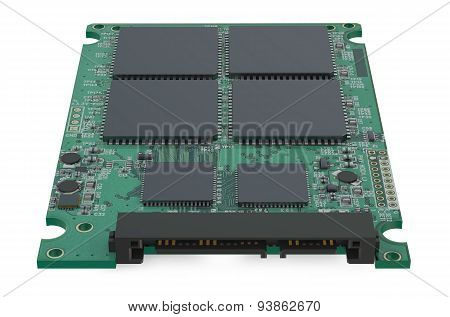 Circuit Board Of An Ssd