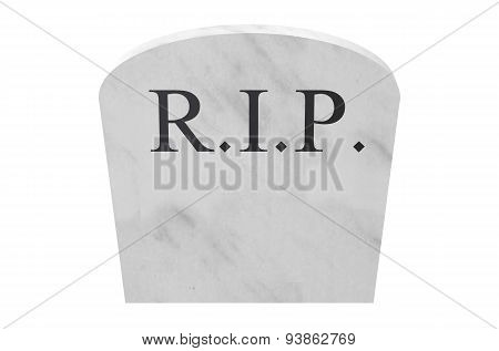 Tombstone Closeup Rip