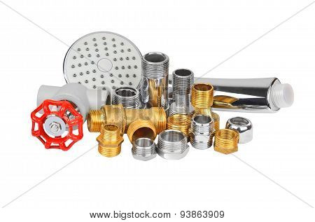 Plumbing fitting, and showerhead