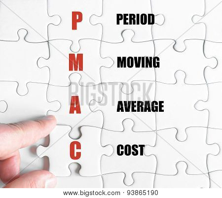 Last Puzzle Piece With Business Acronym Pmac
