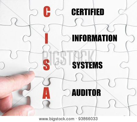 Last Puzzle Piece With Business Acronym Cisa