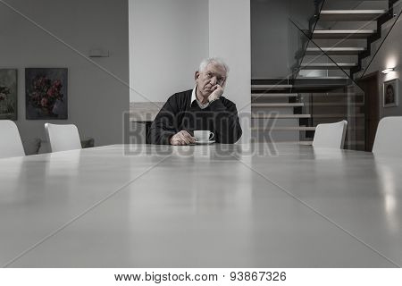 Lonely Senior Man