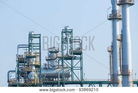 Frame Structure Of Heavy Petrochemical Industry In Petroleum Energy Industrial Estate