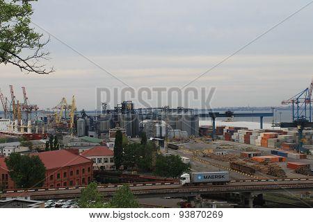 Odessa cargo port