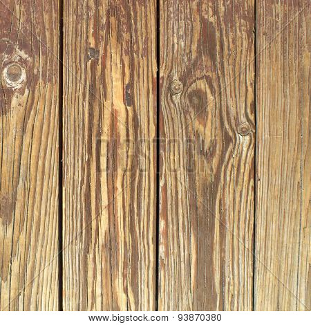strips of rough wood closeup