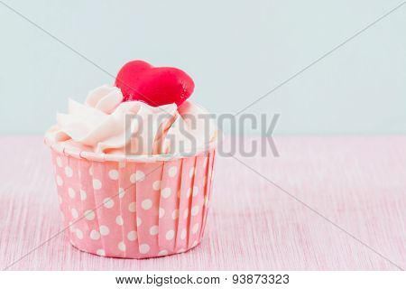 Colorful Of Sweet Cup Cake .