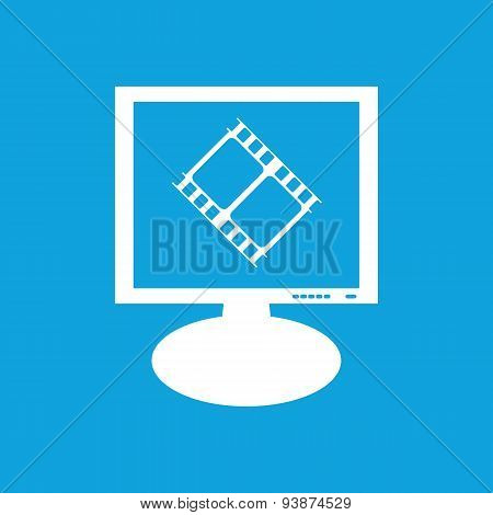 Movie monitor icon