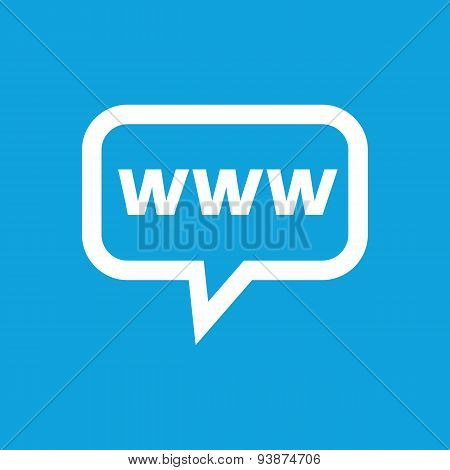 WWW message icon