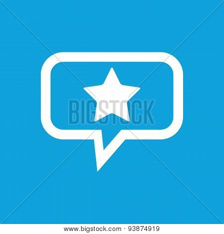 Star message icon