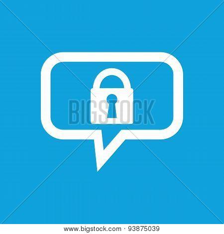 Locked message icon