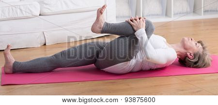 Stretching After Gymnastic