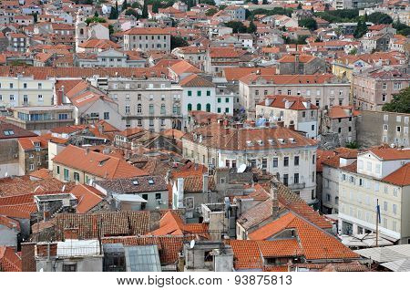 Aerial View Of Split City, Croatia