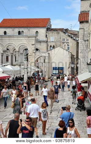 Mediterranean City Of Split, Croatia
