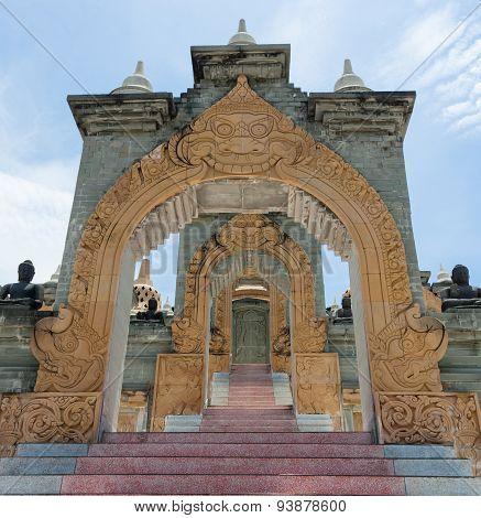 Sandstone Pagoda Entrance