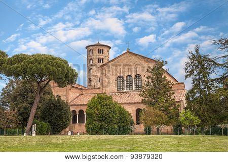 Basilica Of Sant'apollinare In Classe, Ravenna, Italy