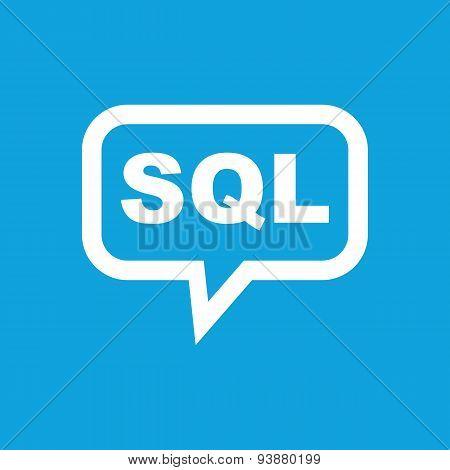 SQL message icon
