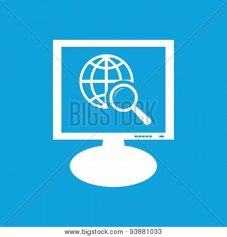 Global search monitor icon