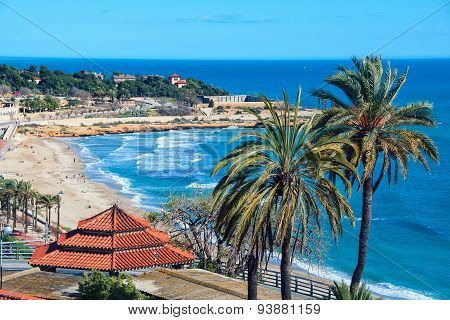 Beach Of Tarragona, Spain