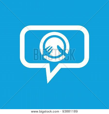 Tableware message icon