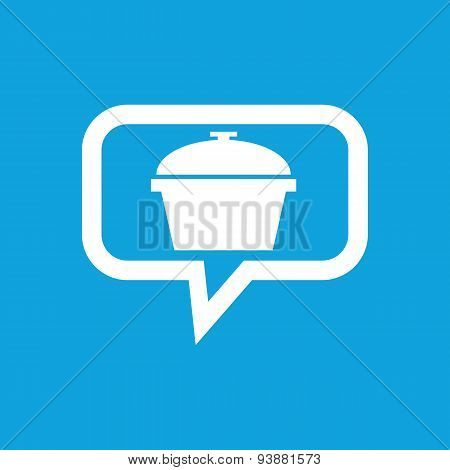 Pan message icon