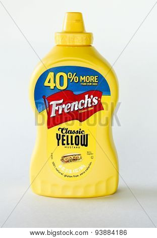 Bottle Of French's Mustard