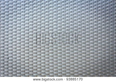 Plastic Weave Pattern For Background