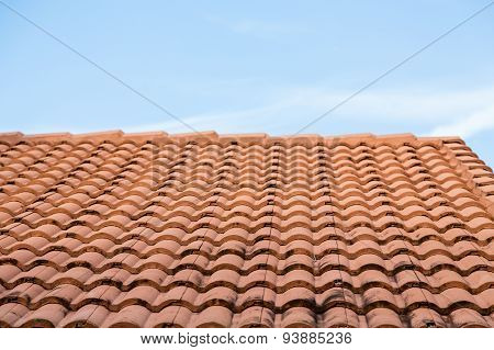 Sooty Orange Tile Roof