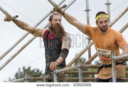 Tough Mudder 2015: Beardman King Of Swingers