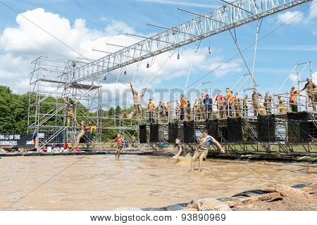 Tough Mudder 2015: King of Swingers