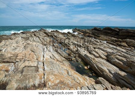 Rocky Point beach Sri Lanka