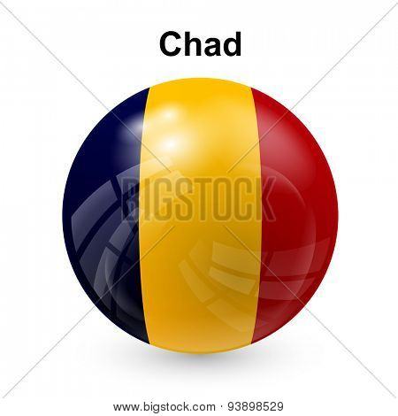 State flag of Chad