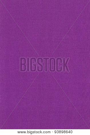 Violet crepe paper