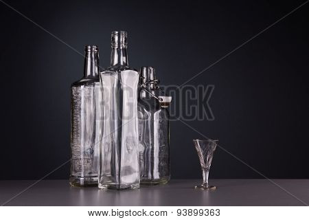 Still-life With Three Bottles