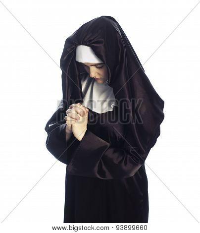 Young Attractive Nun.