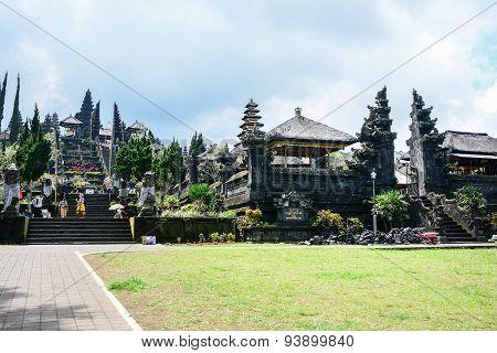 Besakih Temple In Bali, Indonesia