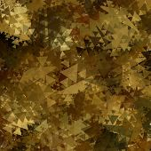 image of camouflage  - Abstract  Military Camouflage Background Made of Geometric Triangles Shapes - JPG