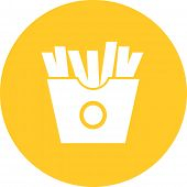 stock photo of eatables  - Fries - JPG