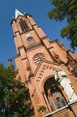picture of gethsemane  - Gethsemane Church is located in Prenzlauer Berg in the Berlin borough of Pankow - JPG
