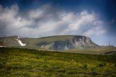 stock photo of plateau  - Lanscpae from Bucegi plateau - JPG