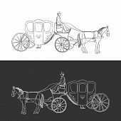 picture of horse-riders  - doodle coach - JPG