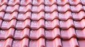 foto of roof tile  - Close - JPG