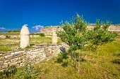 picture of legion  - Stone artefacts of Asseria ancient town in Croatia - JPG