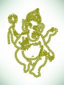 pic of lakshmi  - Abstract lord ganesha vector eps file  - JPG