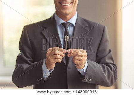 Handsome Middle Aged Realtor