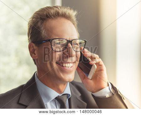 Handsome Middle Aged Businessman
