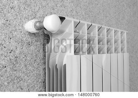 Details of the home gas heater at home